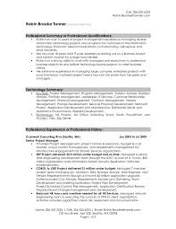 Sample Resume With Summary Of Qualifications by Career Summary Resume Format Resume Format Software Tester Resume