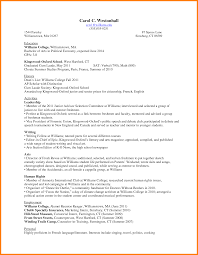 Resume Template For Teenager First Job Sample Resume For First Year College Student Sample Resume First