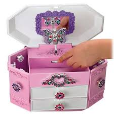 personalized baby jewelry box color me gemz jewelry box allows your kids to customize it
