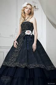 elegant black wedding gown black dresses dressesss