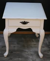 How To Paint A Table by Vintage End Table Crowdbuild For