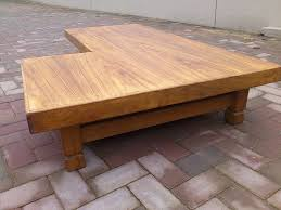 2017 latest l shaped coffee tables