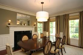 Traditional Dining Room Chandeliers Dining Room Double Sconces With Large Cabinet In Between For