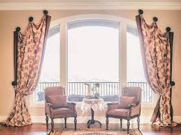 Curved Window Curtain Rods For Arch Best Selections Of Curtains For Arched Windows Homesfeed