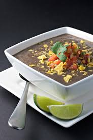 crock pot black bean soup vegan gluten free beginwithin nutrition