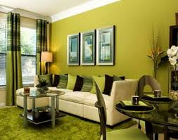 living room winsome green color living room design perfect light