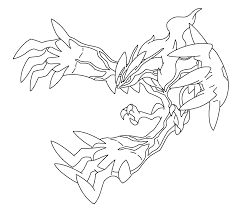 legendary pokemon coloring pages yveltal coloringstar