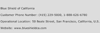 Shield Customer Service Blue Shield Of California Customer Service Phone Number Contact