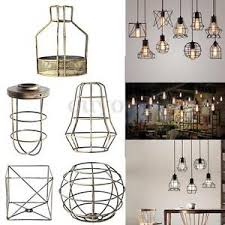wire light bulb cage vintage pendant trouble light bulb guard wire cage ceiling hanging