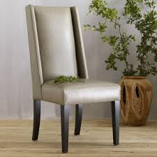 dining room leather chairs willoughby leather dining chair elephant west elm