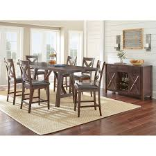 8 Pc Dining Room Set Aspen Court 8 Piece Counter Height Dining Set