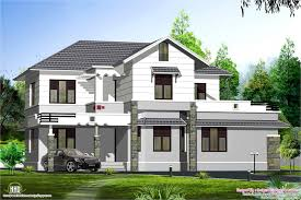 Luxury Home Design Kerala Kerala Style Sloping Roof Villa Design House Design Plans