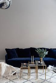 Grey Velvet Sofa by Sofa Awesome Navy Velvet Sofa For Elegant Tufted Sofa Design