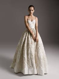 amsale bridal amsale amsale dahlia size 10 size 6 wedding dress oncewed