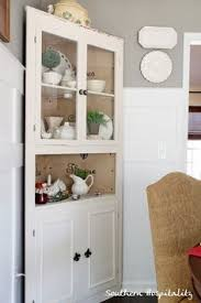 dining room decor ideas built in corner cabinet within dining