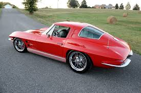 how many 63 split window corvettes were made 60th birthday chevy corvette a trip memory