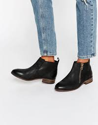 womens boots kurt geiger kurt geiger shoes for sale miss kg spitfire zip black leather
