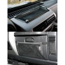 jeep wrangler storage jeep interior storage by rugged ridge