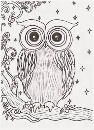 rachel maybeth night owl painting print and a free coloring page