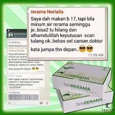 Teh Rerama teh rerama herba penawar terbaik kanser dan penyakit kronik