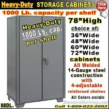 heavy duty steel storage cabinets heavy duty industrial storage cabinets