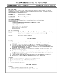 Resume For Hotel Jobs by Hotel Manager Resume Example Sample This Free Sample Was Provided