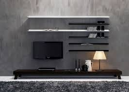 Simple Tv Set Furniture White High Gloss Finish Wooden Tv Cabinet Stand Set With Tall