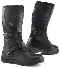 womens leather motorcycle riding boots tcx infinity evo gore tex boots revzilla