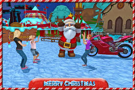 halloween cookie delivery crazy santa moto gift delivery android apps on google play
