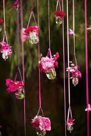 Hanging Flowers Wedding Trend Hanging Flowers Paperblog