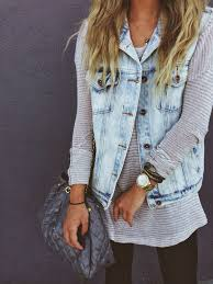What To Wear With Light Jeans 20 Style Tips On How To Wear Denim Vests Ideas Gurl Com