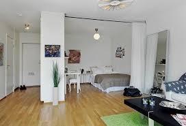 wohn schlafzimmer einrichtungsideen einzimmerwohnung einrichten tolle und praktische