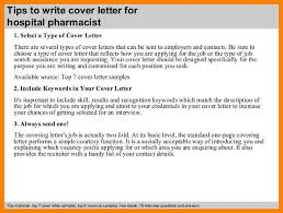 10 pharmacy cover letter examples address example