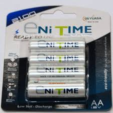 rechargeable aa batteries for solar lights aa 2100mah rechargeable batteries 4 pack for garden solar lights