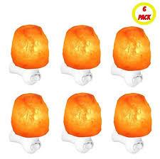 himalayan salt l diffuser 6 pack night light himalayan salt l negative ion air purifier