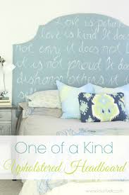unique diy upholstered headboard lovely etc one of a kind headboard