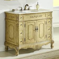 Bathroom Vanity With Offset Sink Counter 42 Bath Vanity White Bathroom With Granite Top Sink
