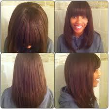 hairstyles bob with bangs medium length medium length stacked bob hairstyles styles