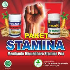 jual obat kuat dan tahan lama pria herbal de nature asli di lapak