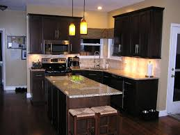 kansas city java kitchen cabinets transitional with ceramic