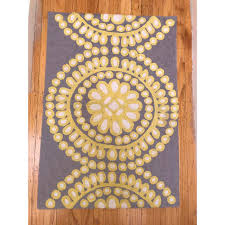 Anthropologie Area Rugs Anthropologie Small Wool Area Rug 2 3 Chairish