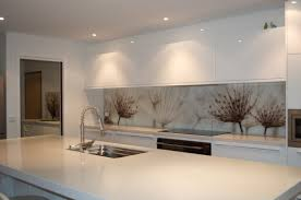 modern kitchen splashbacks printed glass splashback created by seein seein custom printed