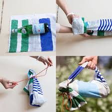 Wine As A Gift 335 Best Furoshiki Images On Pinterest Bags Gift Wrapping And Diy