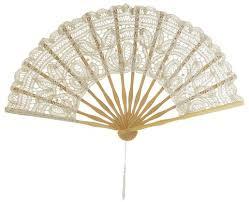 paper fans bulk 11 beige ivory folding lace fan for weddings on