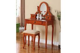 briliant crown mark bedroom vanity table and stool 2208set esp at
