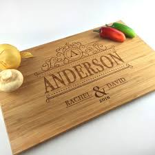 personalized cutting board wedding 59 best cutting boards wood images on anniversary