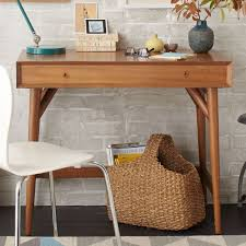 mid century mini desk acorn west elm au
