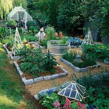 10 ways style your very own vegetable garden