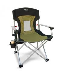 Foldable Loveseat Outdoor Decorations Camping Chair Back Support Folding Camping