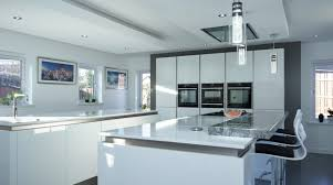 Double Island Kitchen by Bespoke German Kitchen Belfast Kitchen Island Stormer Designs
